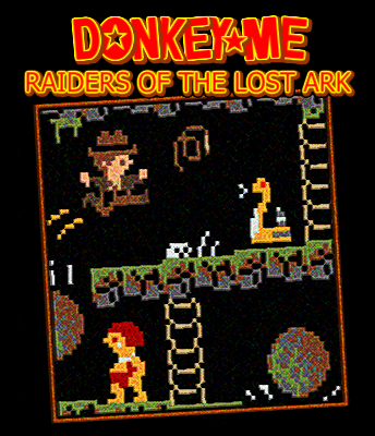DonkeyMe_Raiders_of_the_Lost_Ark_Poster